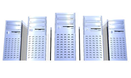 Torres do computador Fotos de Stock