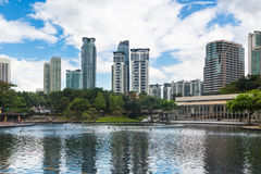 Torres do escritório em Kuala Lumpur Foto de Stock Royalty Free