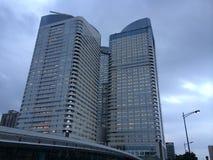 Torres do escritório no Tóquio Imagem de Stock Royalty Free