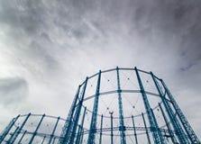 Torres do gás Imagens de Stock