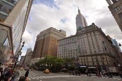 Torres do Herald e Empire State Building, NYC Fotos de Stock Royalty Free