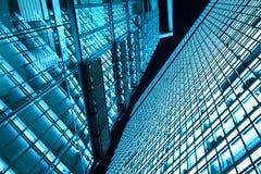Torres do negócio na noite Imagem de Stock