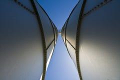 Torres do silo imagem de stock