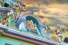 Torres do templo de Sri Layan Sithi Vinayagar Foto de Stock Royalty Free