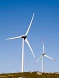 Torres do vento no ambiente natural Imagens de Stock