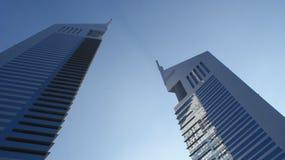 Torres dos emirados Foto de Stock