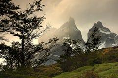 torres du Chili del paine Images stock