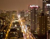 Torres elevadas da skyline Fotos de Stock Royalty Free