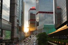 Torres em Sheung macilento, Hong Kong Fotografia de Stock Royalty Free