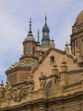 Torres en Zaragoza imagen de archivo libre de regalías