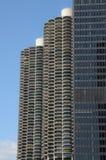 Torres gémeas Chicago Imagem de Stock