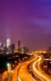 Torres gémeas de Kuala Lumpur Foto de Stock