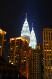 Torres gémeas de Petronas imagem de stock