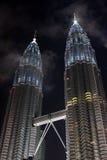Torres gémeas de Petronas Foto de Stock Royalty Free