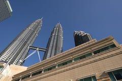 Torres gémeas de Petronas Imagens de Stock