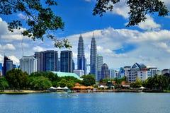 Torres gémeas de Petronas Fotografia de Stock
