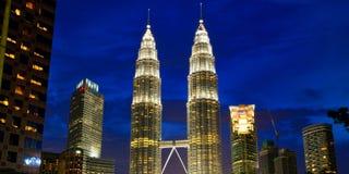 Torres gémeas de Petronas Imagens de Stock Royalty Free