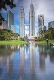 Torres gémeas de Petronas Foto de Stock