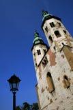 Torres gémeas em Krakow, Poland foto de stock royalty free