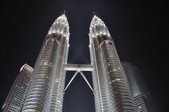 Torres gêmeas Imagem de Stock