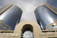 Torres gemelas Foto de archivo
