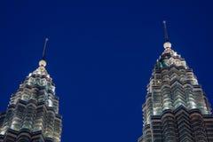 Torres gemelas Foto de archivo libre de regalías