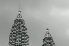 Torres gemelas de la torre de Petronas Foto de archivo