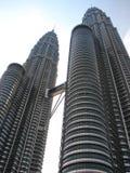 Torres gemelas de Petronas Foto de archivo