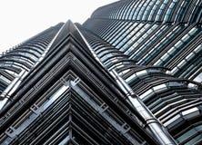 Torres gemelas de Petronas Fotografía de archivo