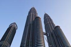 Torres gemelas de Petronas Fotos de archivo