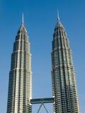 Torres gemelas de Petronas Imagenes de archivo