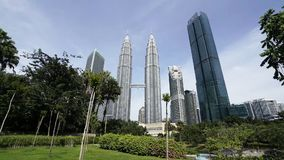 Torres gemelas de Petronas en Kuala Lumpur