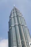 Torres gemelas de Petronas en Kuala Lumpur, Malasia Foto de archivo libre de regalías