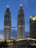 Torres gemelas de Petronas - Kuala Lumpur - Malasia foto de archivo libre de regalías