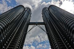 Torres gemelas de Petronas, Kuala Lumpur, Malasia imagenes de archivo