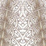 Torres gemelas del fractal Imágenes de archivo libres de regalías