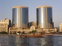 Torres gemelas (Dubai) Imágenes de archivo libres de regalías