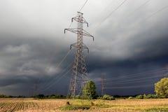 Torres hidráulicas foto de archivo