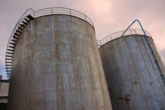 Torres industriais Fotografia de Stock Royalty Free