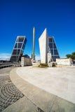 Torres Kio en Madrid Fotos de archivo libres de regalías