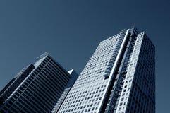 Torres luxuosas do arranha-céus Foto de Stock