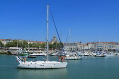 Torres medievais de La Rochelle, França Fotografia de Stock