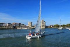 Torres medievais de La Rochelle, França Imagem de Stock