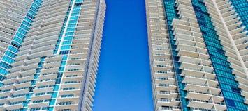 Torres modernas do condomínio Fotografia de Stock