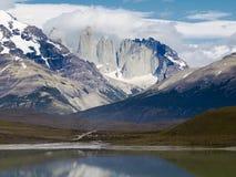 torres patagonia парка paine del национальные Стоковое Фото