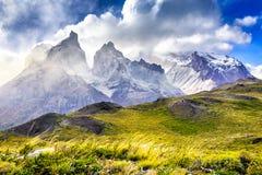 torres patagonia Чили del paine стоковое фото