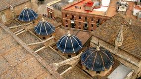 Torres pequenas no telhado Imagens de Stock Royalty Free