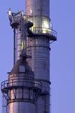 Torres químicas Foto de archivo