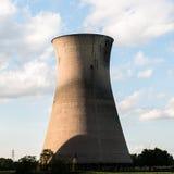 Torres refrigerando de central elétrica de Willington Foto de Stock