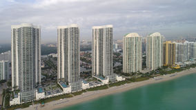 Torres Sunny Isles Beach FL del triunfo del presidente imágenes de archivo libres de regalías